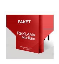 Reklama paket Medium